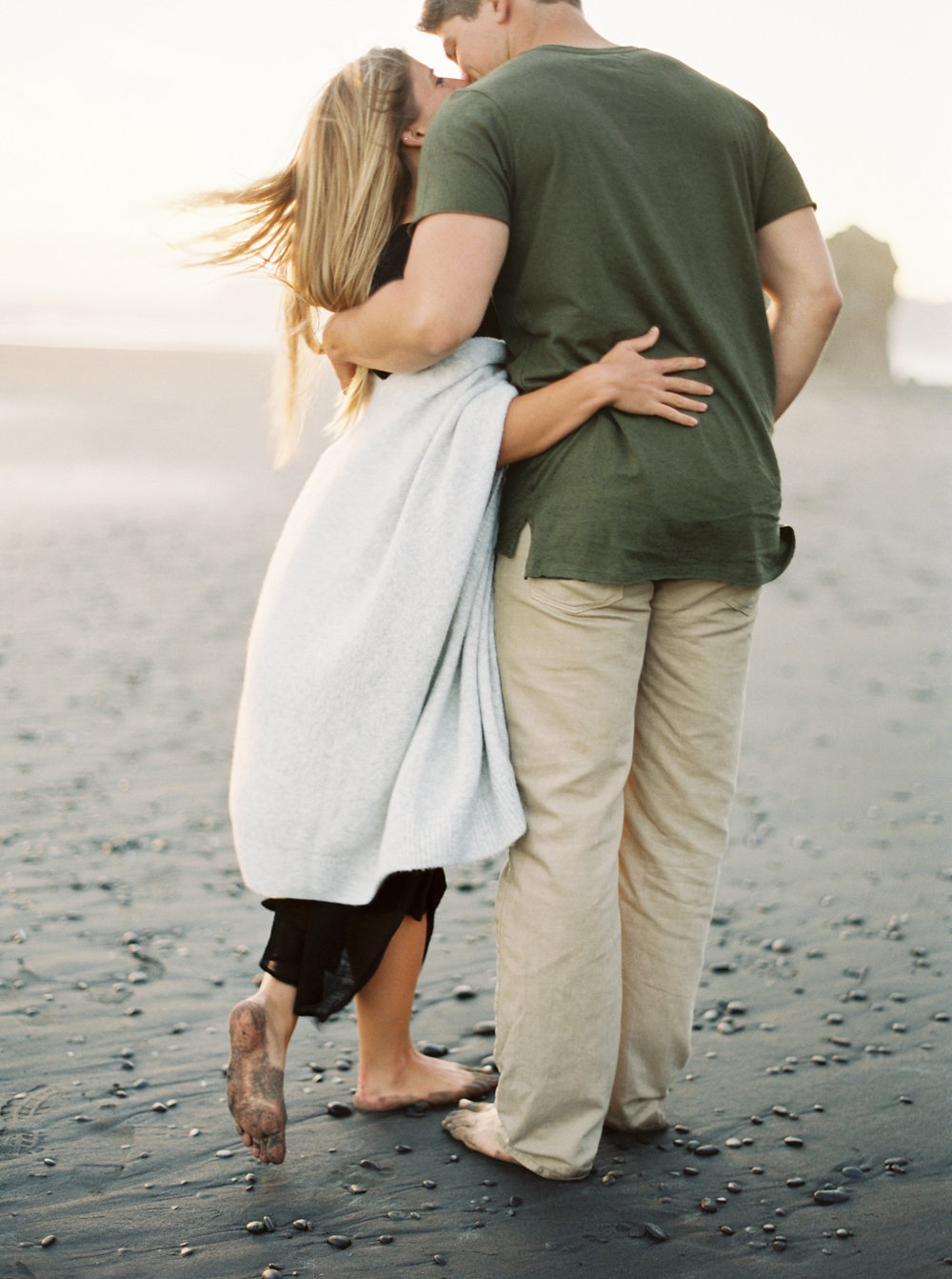 Intimate Anniversary on Oregon Coast on Cottage Hill