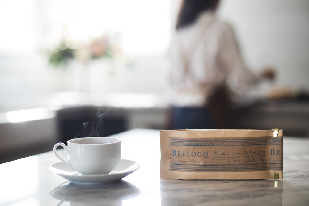 While you wait on the scones, go ahead and get your tea ready. My favorite is Bellocq, you can read their story in   The Grace Issue.