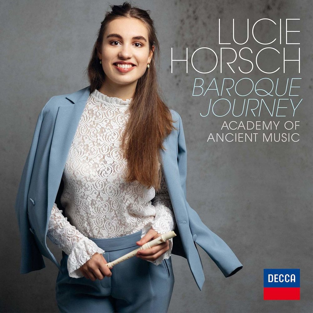 Bojan directs the Academy of Ancient Music in a recording of baroque recorder concertos
