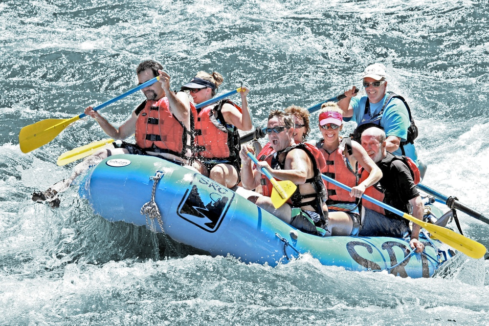 One And Half Day Rafting Trips