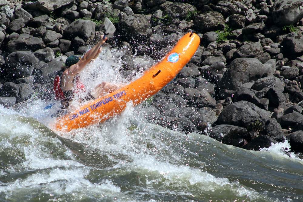 Inflatable Kayaking Trips