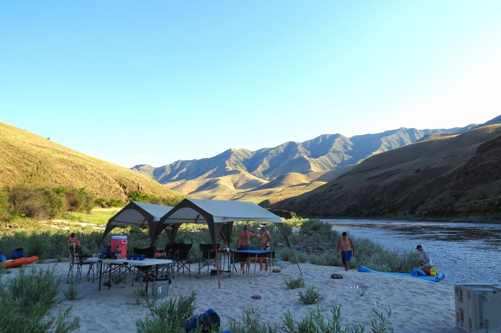 Multi-day Camping/Rafting Trips