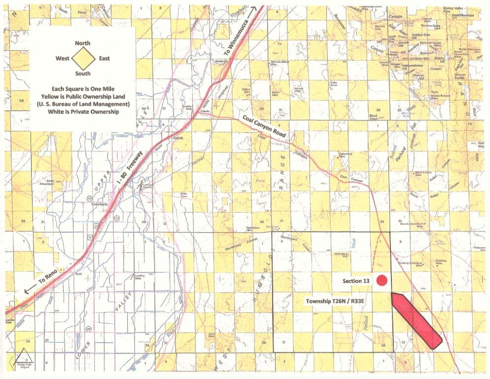 Section 13 BLM Map