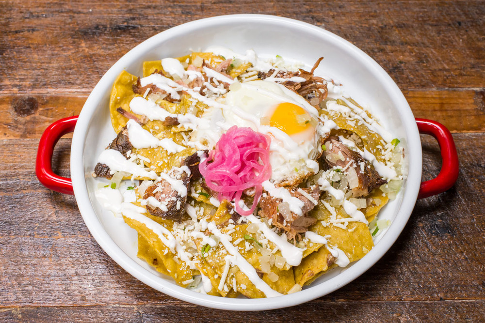 Chilaquiles at El Centro D.F.
