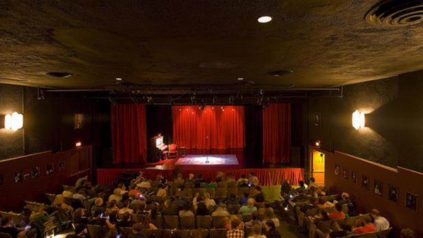 The Largo Theater Interior. Photo Credit: Largo