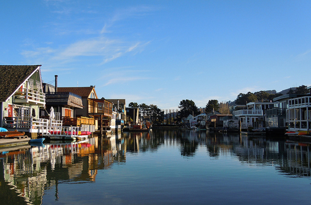 Sausalito Boat Houses; Photo Credit: Floating Homes Association