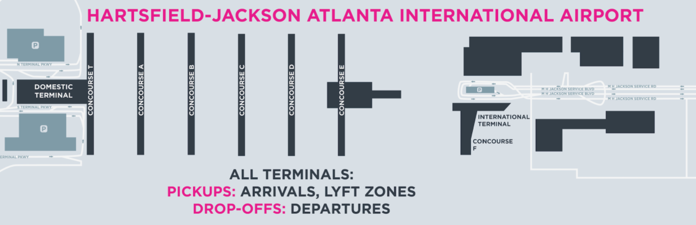 Lyft X Atlanta Airport Lyft Blog