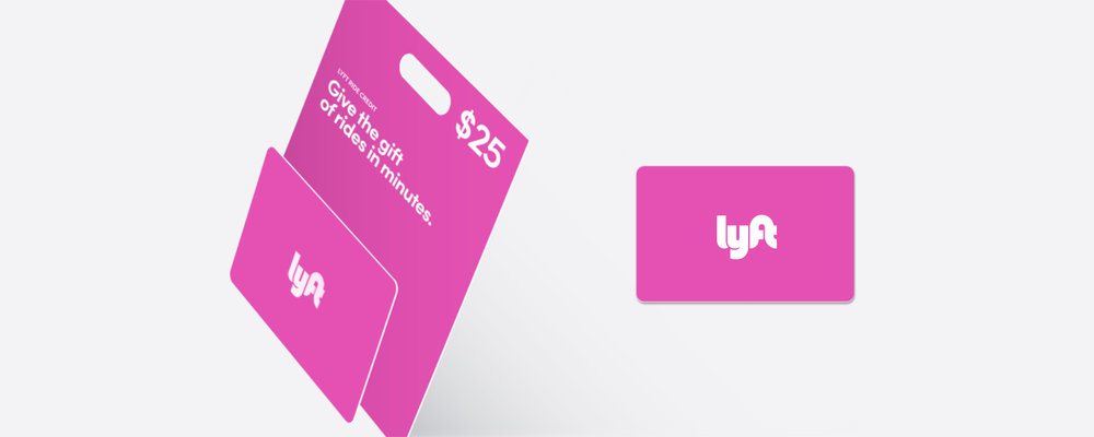 image about Lyft Printable Logo identify Lyft Present Playing cards, Previously Readily available within just Outlets and On the internet Lyft Weblog
