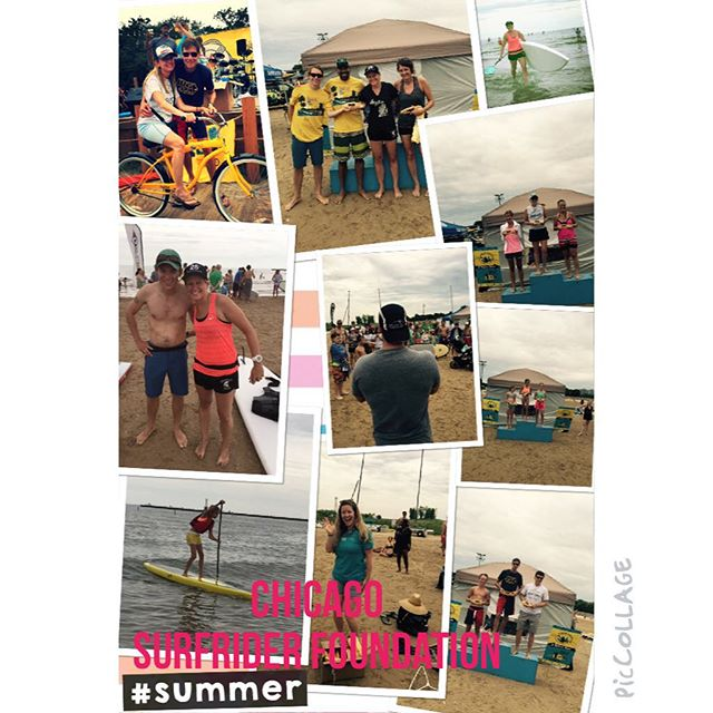 Chicago Surfrider foundation #surfriderfoundation #pacificobeer #pacificoswag #standuppaddleboard #supyacs #luriehospital #youngadultcancersurvivors