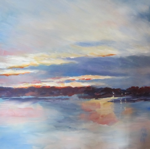 Sat., March 25 - Elaine Daly - Acrylics