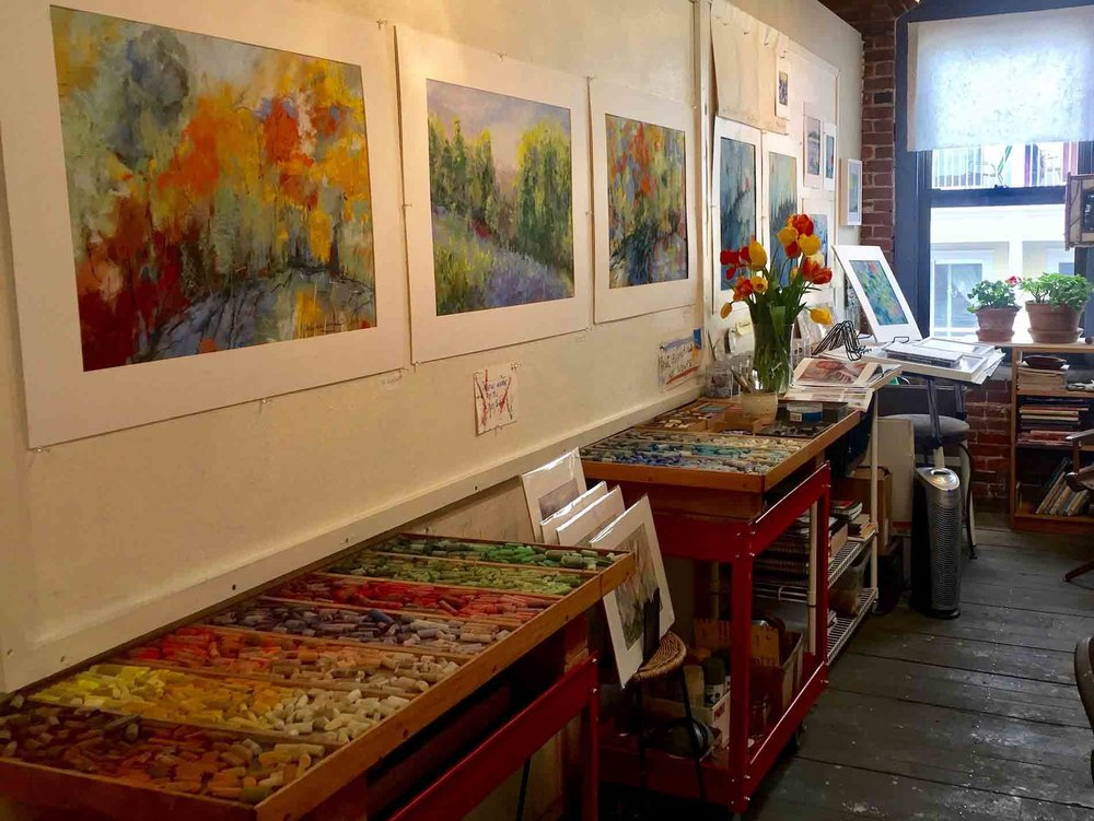 Michèle J. Kenna's studio