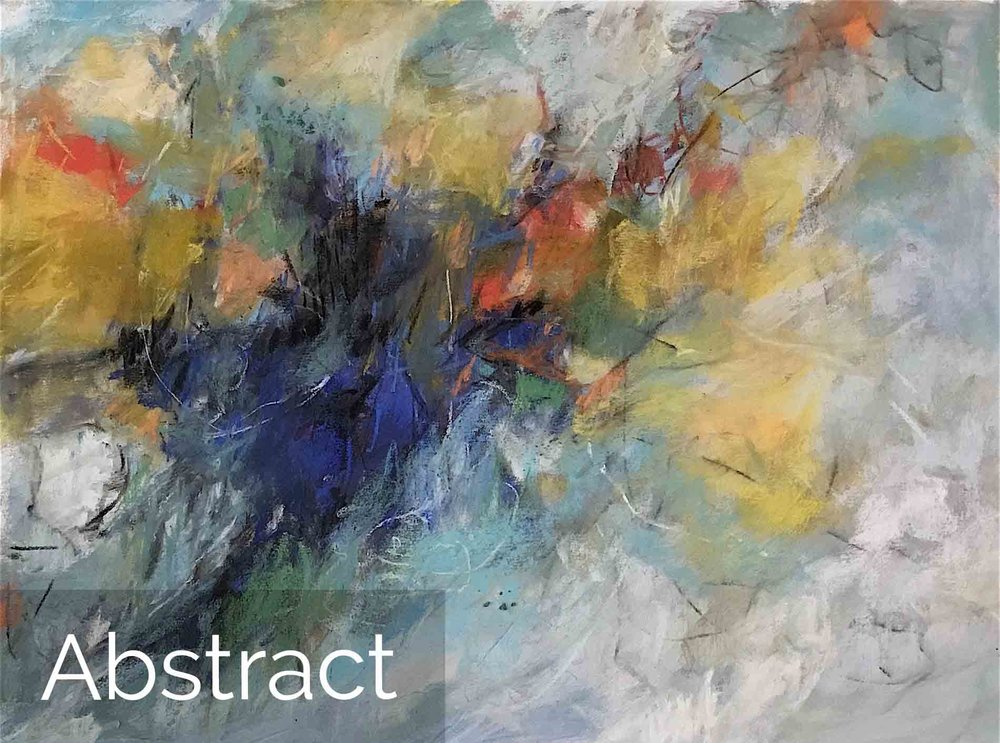 Michele J. Kenna Abstract Paintings for Sale - Pastel