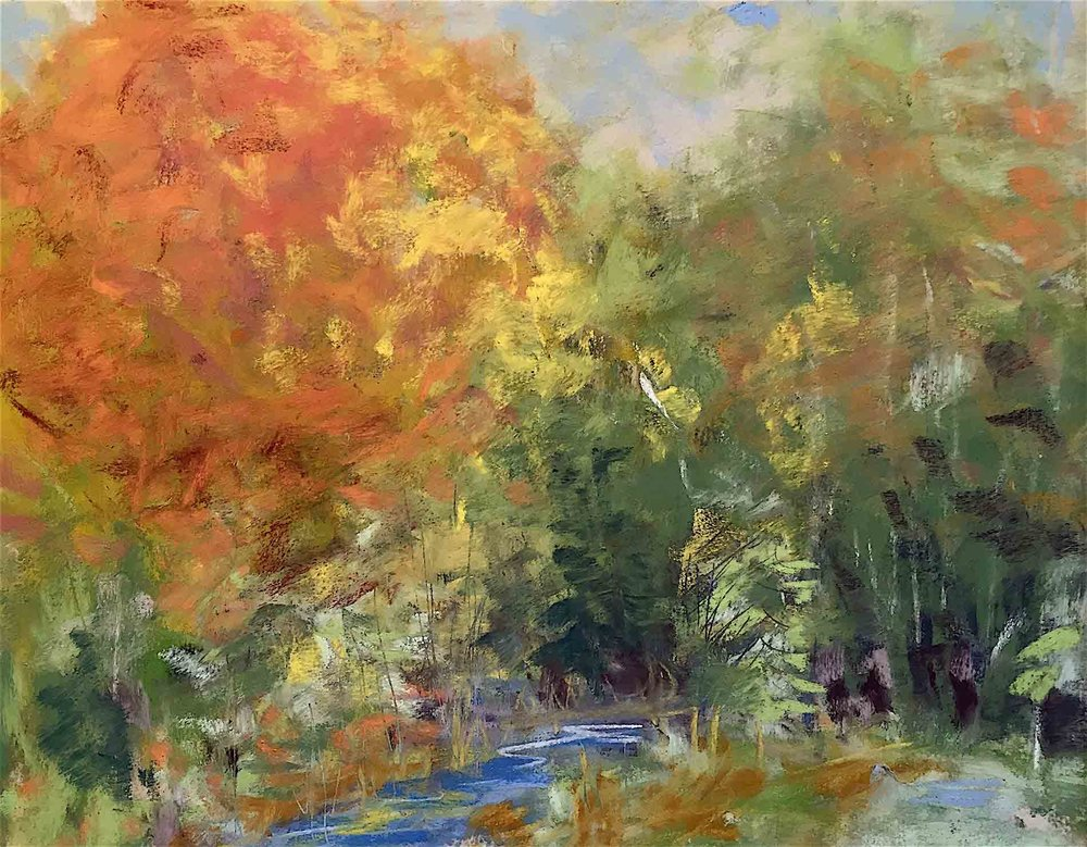 Michèle J. Kenna Fall Painting