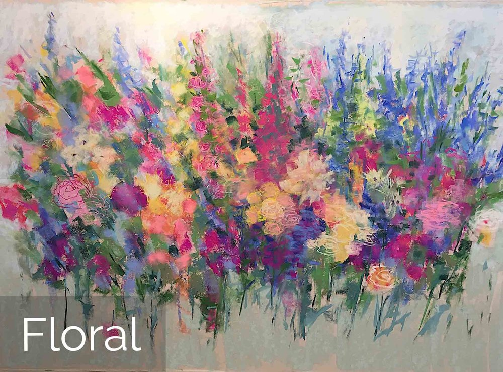 Michèle J. Kenna Floral Paintings for Sale - Pastel