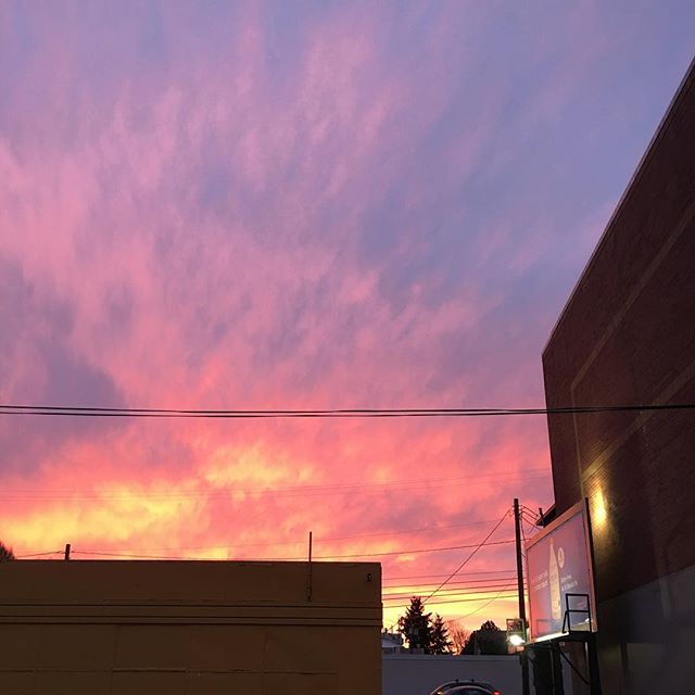 Totally unnecessary sky photo. #nofilter #portland