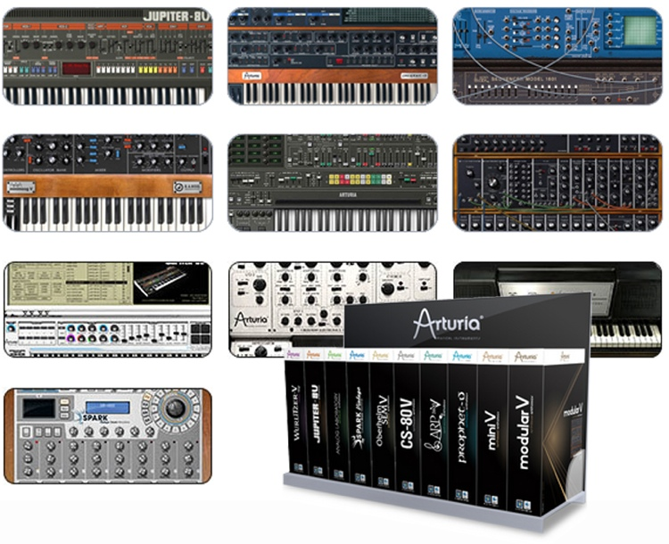 ARTURIA Vintage Synth Collection