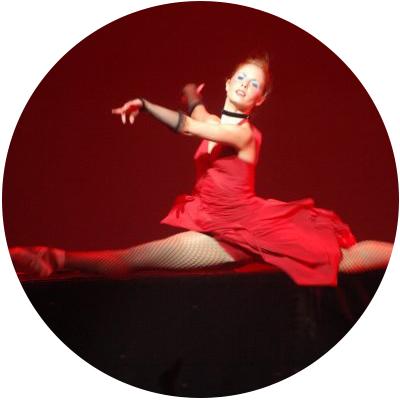 Rachael Hall dancing