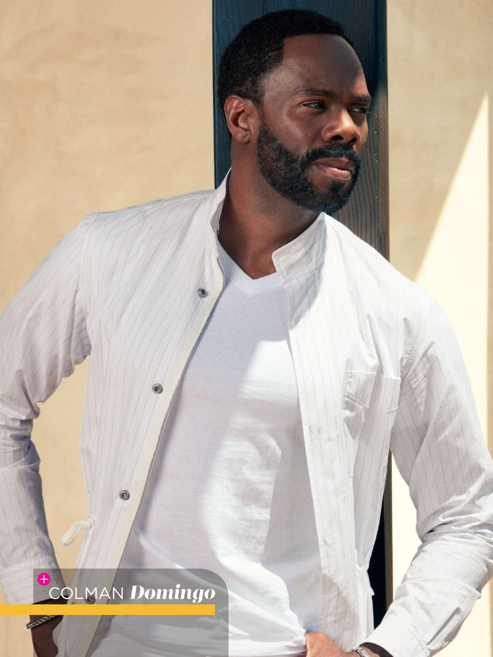 Essence Magazine July 2016 Classic Men Issue  Feature Photo | Colman Domingo