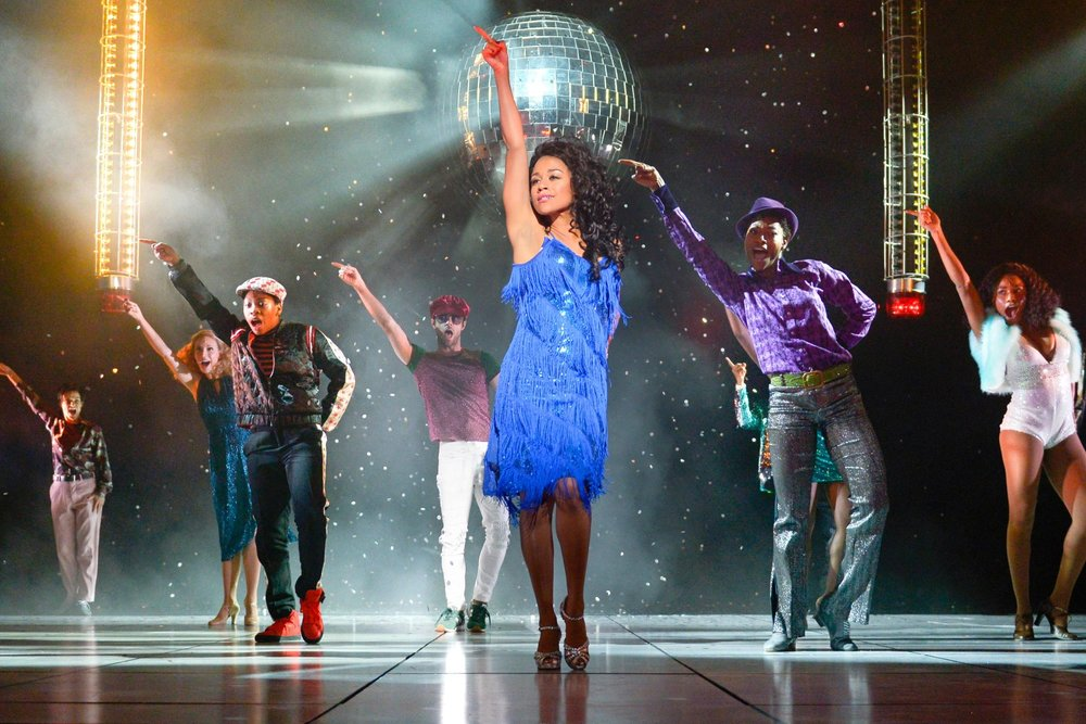 Ariana DeBose and Company in SUMMER: The Donna Summer Musical