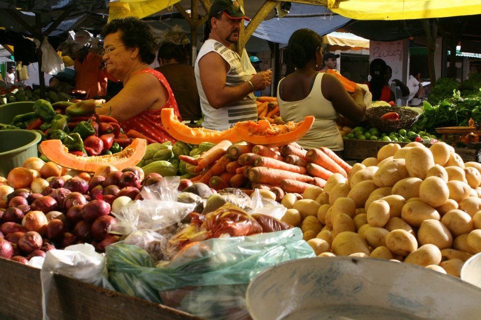 Street Market in Salvador Brazil