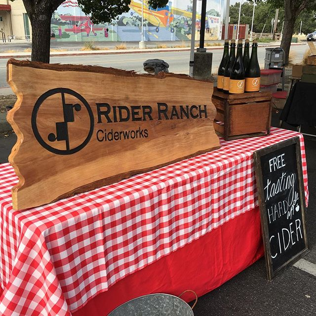 We will be out to the Scott's Valley Farmers Market today from 9 - 1 come out and try some cider with us.