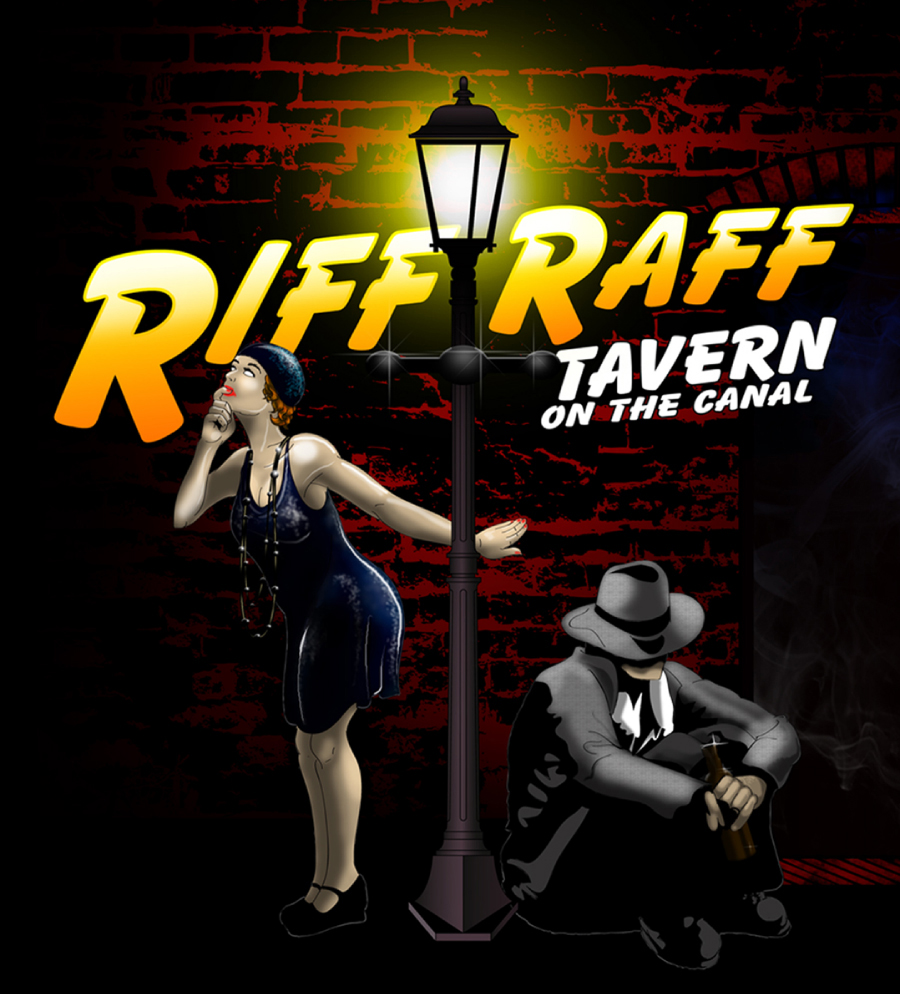 Riff Raff tavern on the canal
