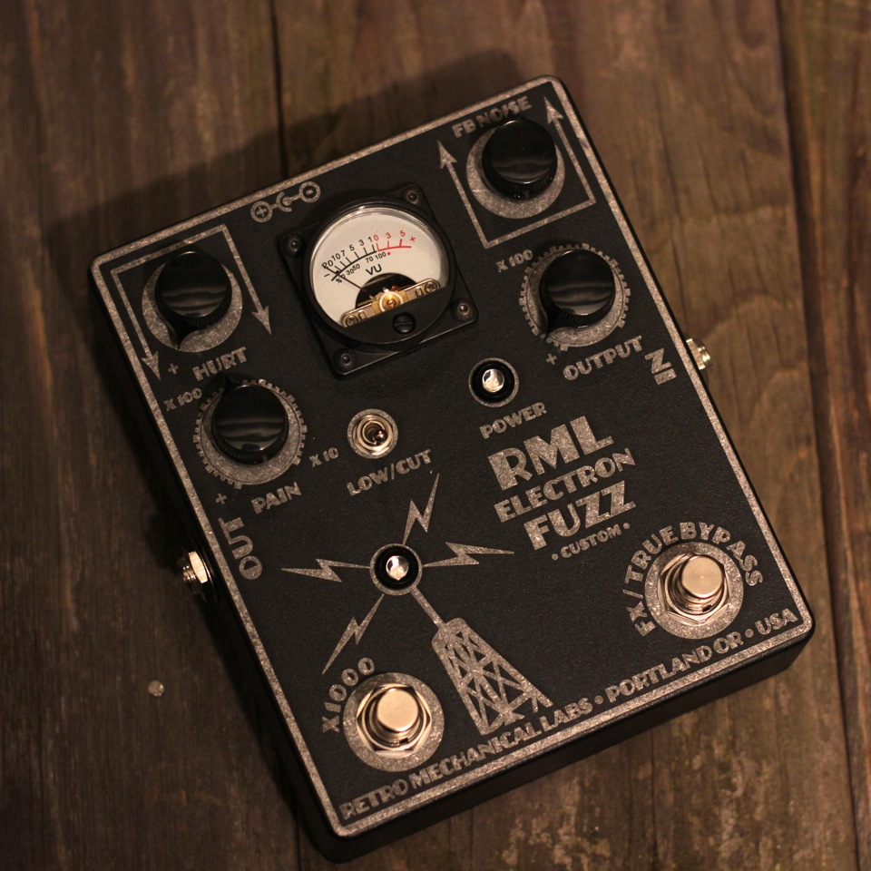 Retro Mechanical Labs Electron Fuzz Custom Guitar Pedal