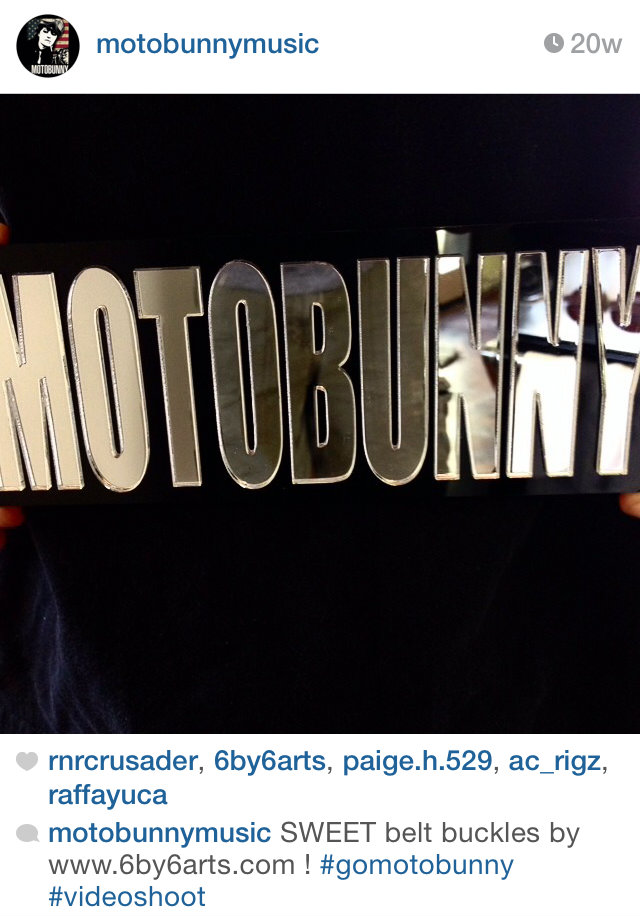Screen cap from Motobunny's Instagram.