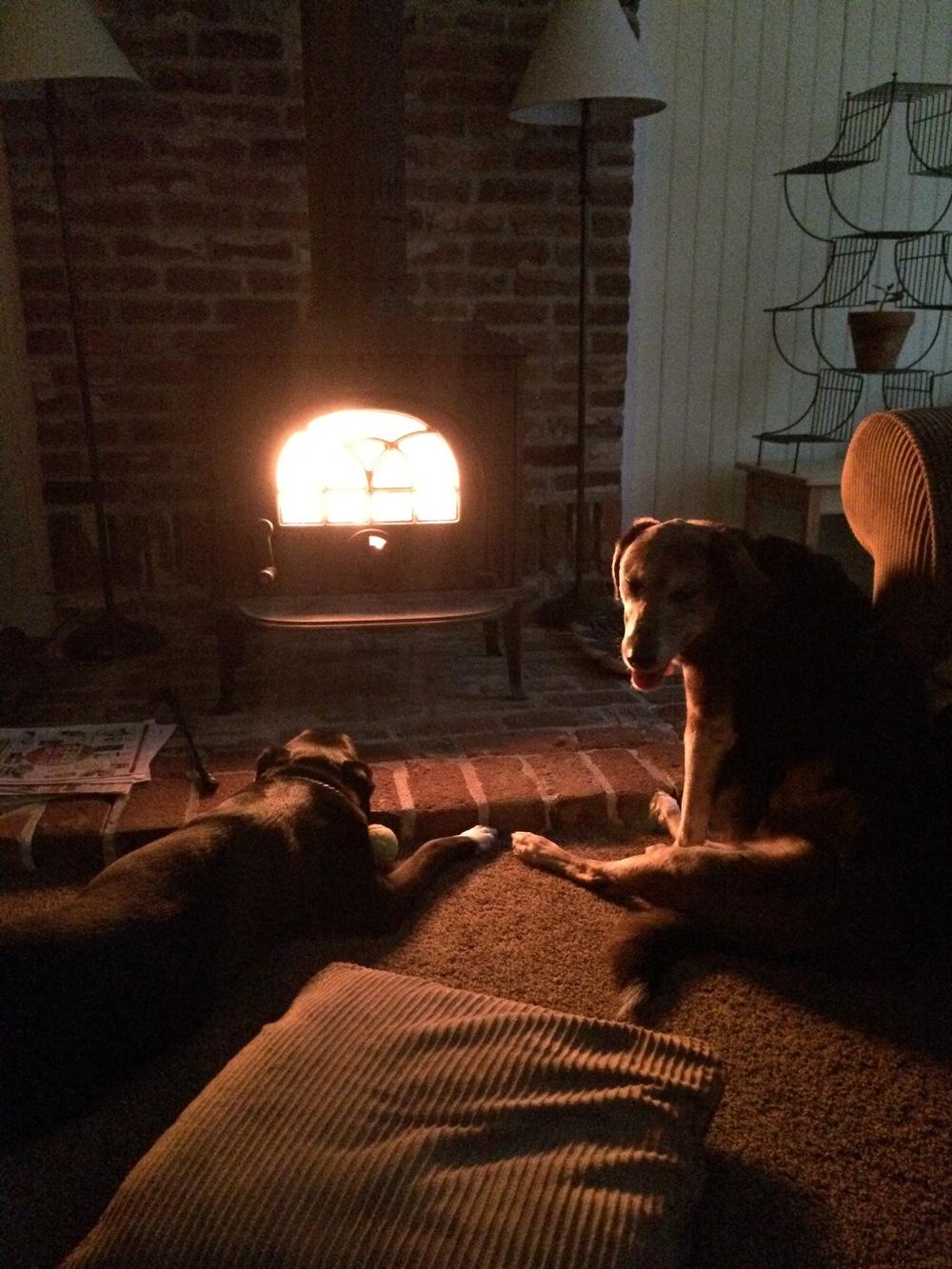 Baberham & Toki = fireplace fans.