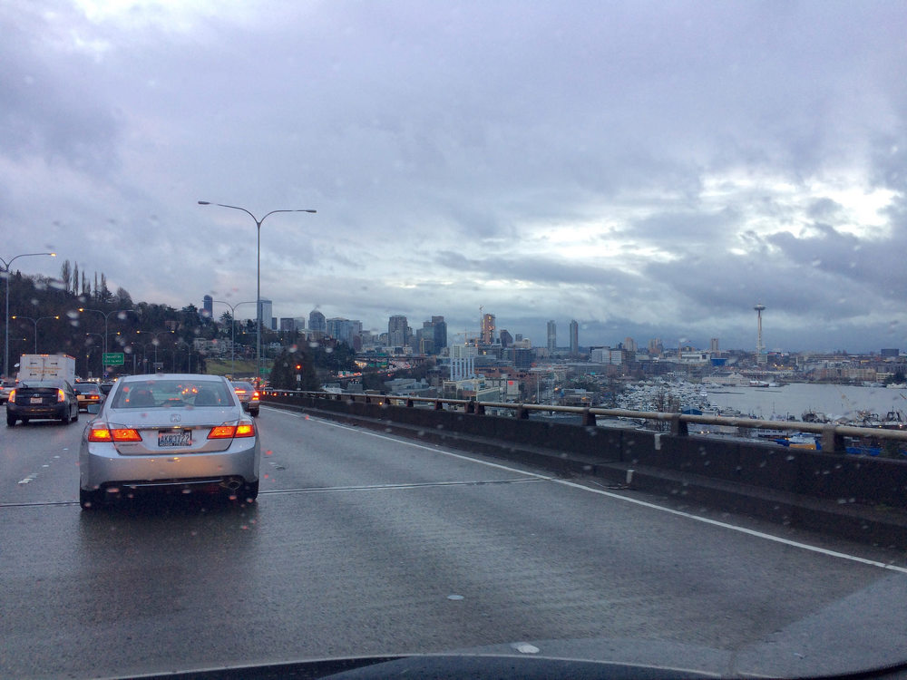 A typical Seattle morning commute.