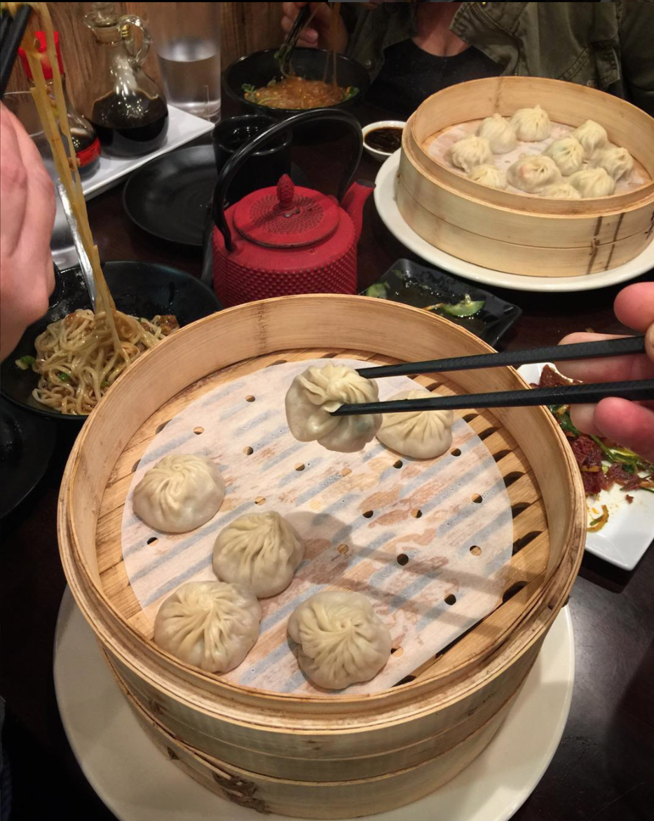 Xiao Long Bao at Dough Zone in Redmond, WA - Photo by John Bronleewe.