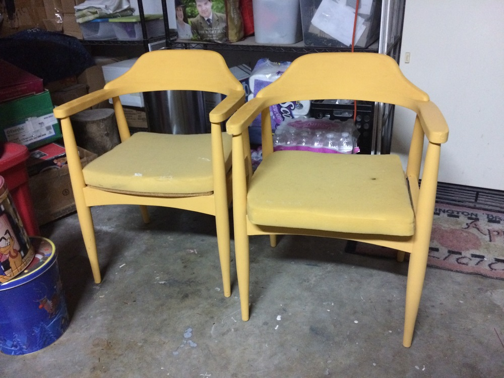 Nacho cheese chairs.