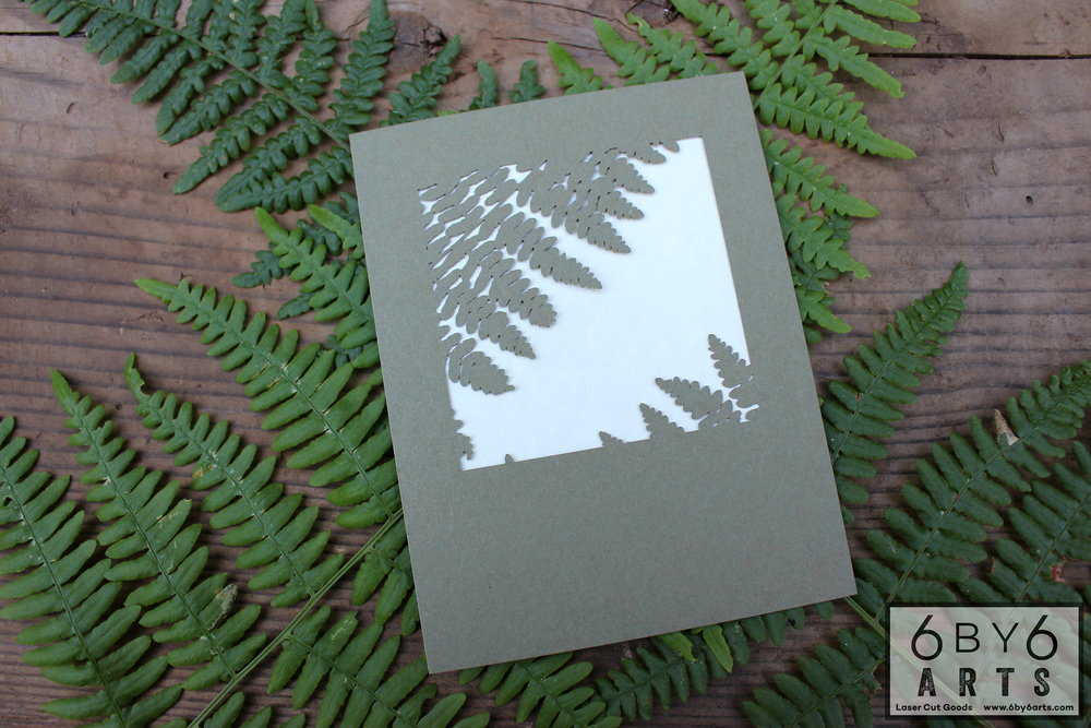 6 by 6 Arts - Lady Fern Cards