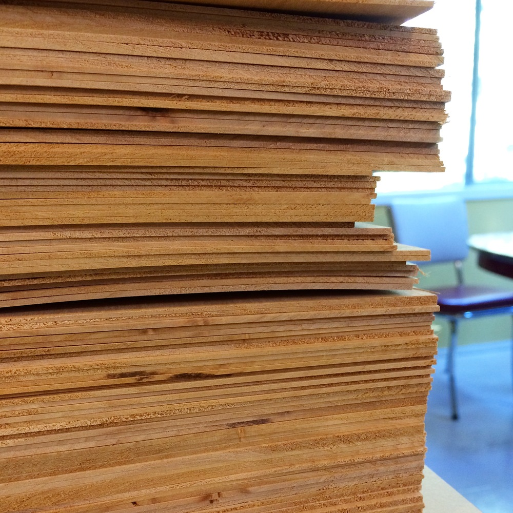 Processing 880 wood boards.