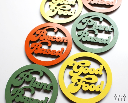 Food Mood Magnets | 6 by 6 Arts