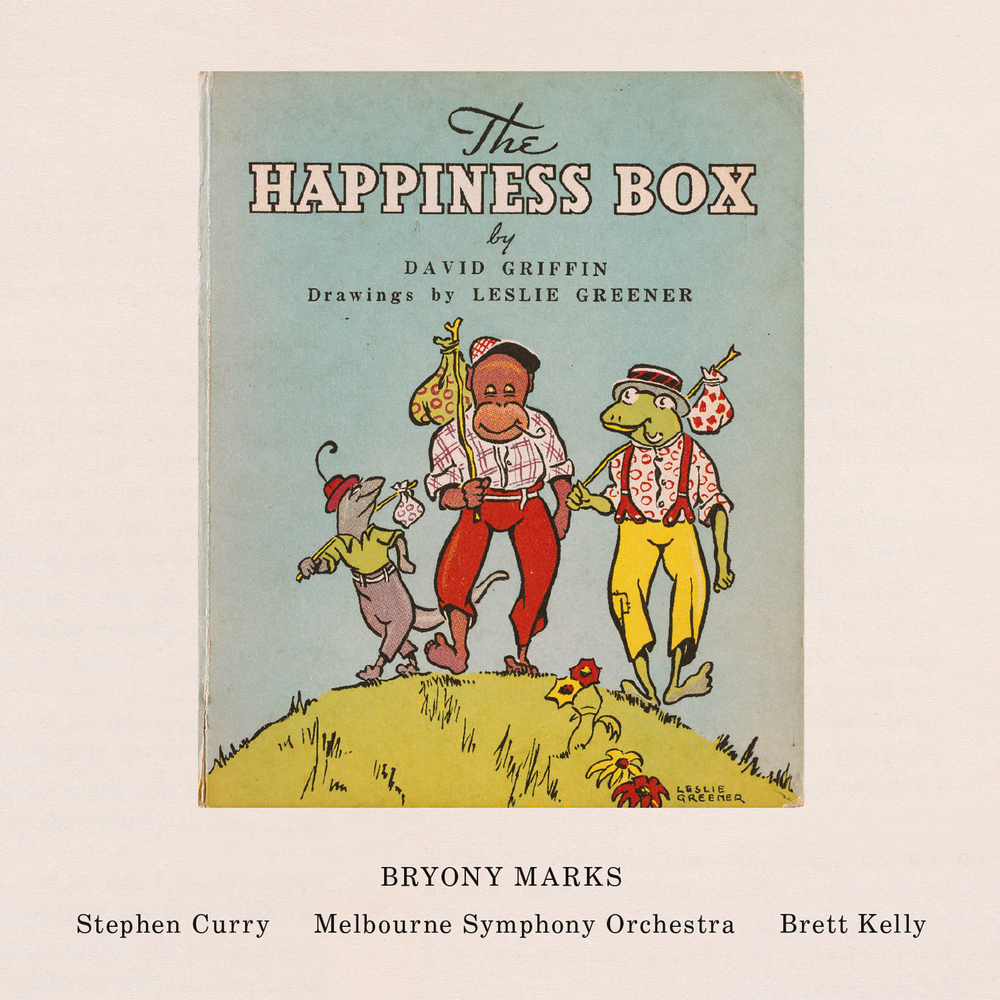 The Happiness Box CD front cover
