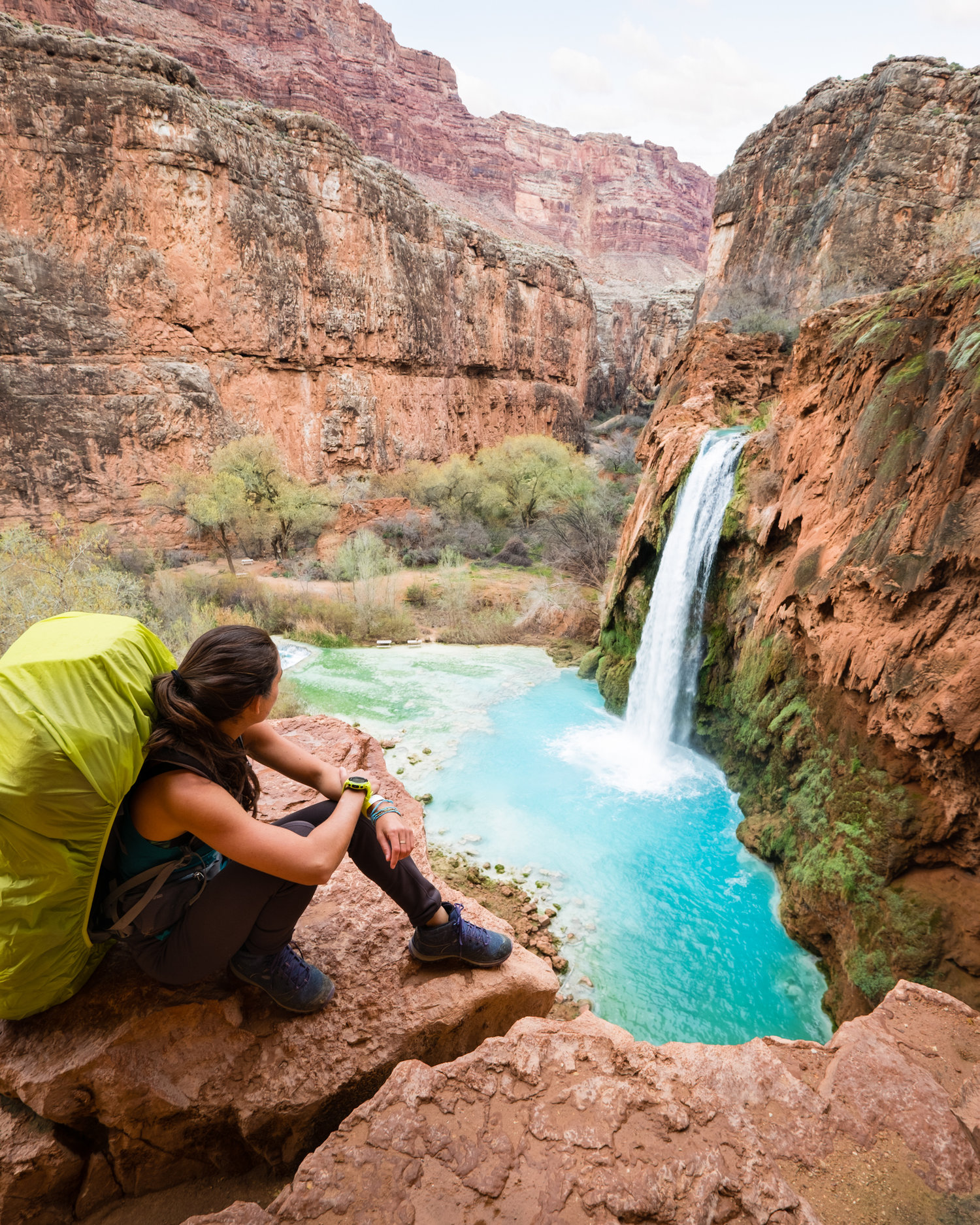 704c76079175 Tips for Backpacking into Havasupai for the First Time — THE ADVENTURERS  COLLECTIVE