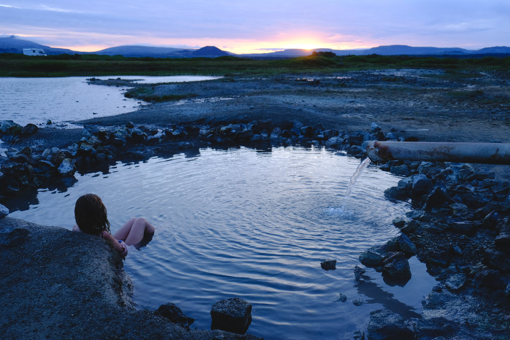 Landbrotalaug hot spring