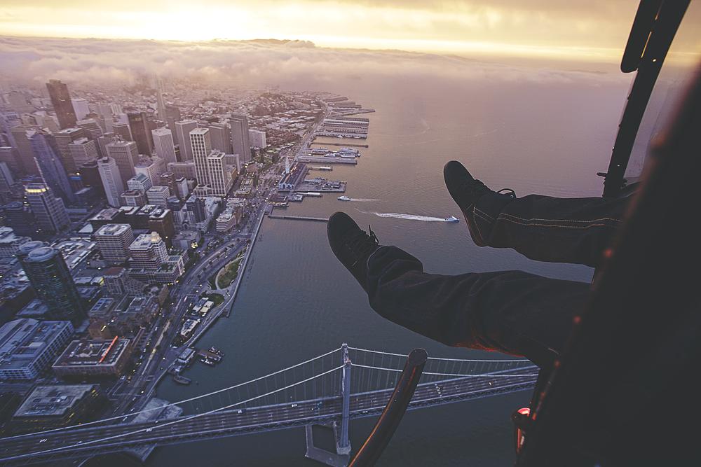 Airwalk over SF