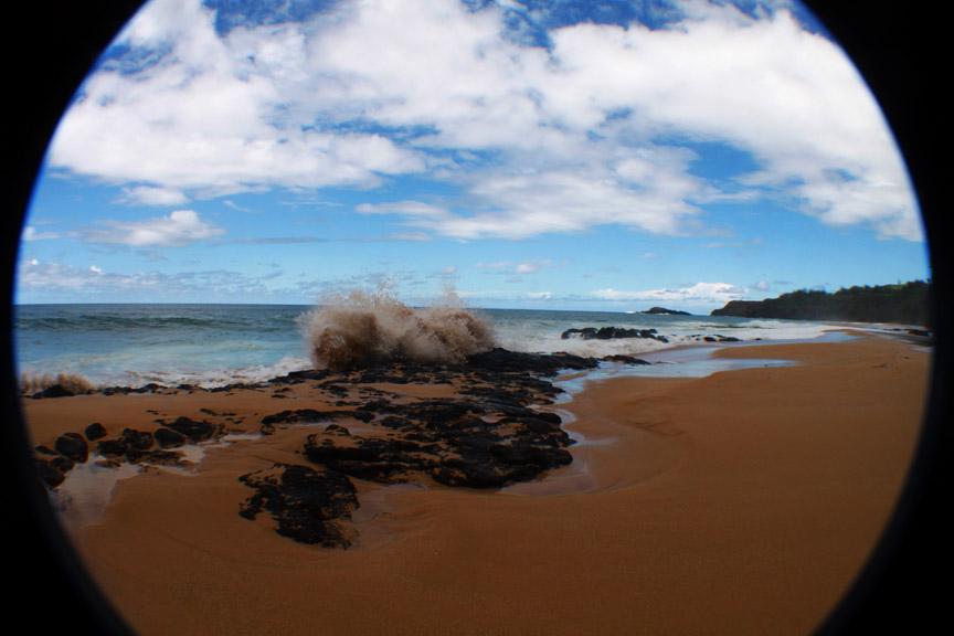 Kauapea Beach, Kauai
