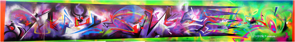 "The complete piece, ""Quantum"", from 2013, East Palo Alto, CA."
