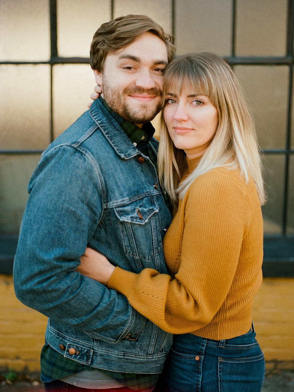 My better half and me, photographed by Bethany Sams
