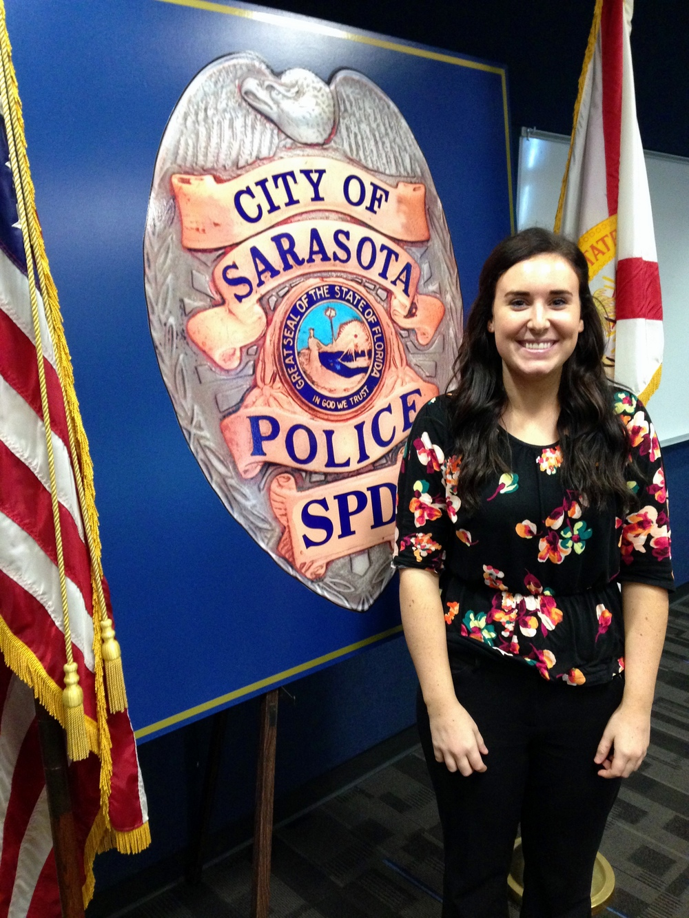 Brandy Borling joined the Sarasota Police Department on January 21, 2015 as an additional Victim Advocate for the Sarasota Police Department.