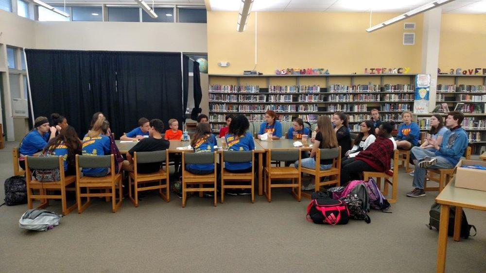 Sarasota Police & Brookside Middle School Host Student Anti-Bullying Meeting — Sarasota Police Department