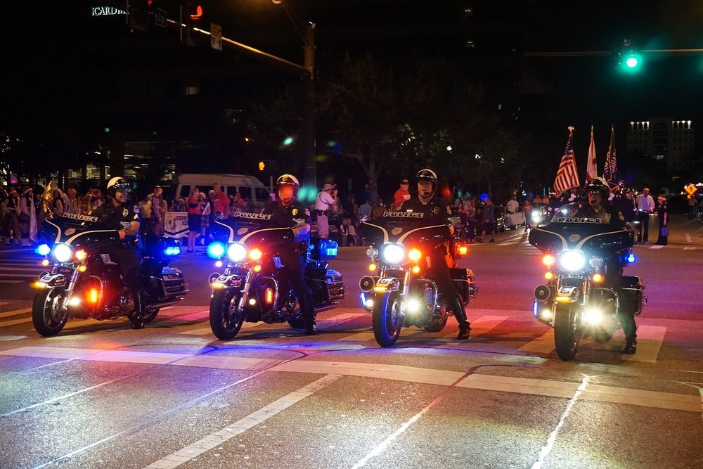 SPD: Road closures for Downtown Sarasota Holiday Parade – Saturday, December 3, 2016