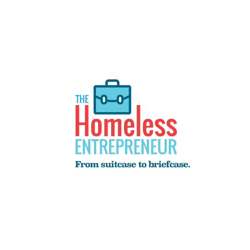 The Homeless Entrepreneur - Program with national press coverage for people without permanent homes, seeking to build businesses.