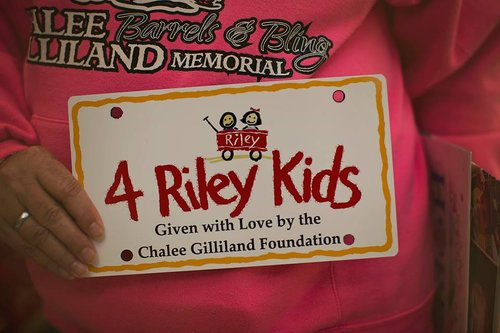 red wagon donation chalee gilliland foundation