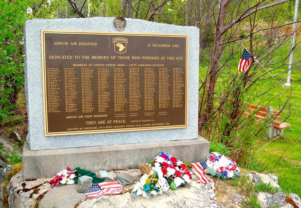 Silent Witness Memorial, Gander, Newfoundland and Labrador