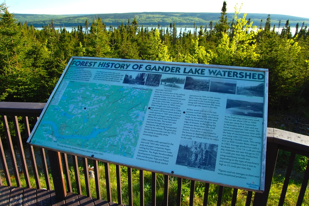 Thomas Howe Demonstration Forest, Gander, Newfoundland and Labrador