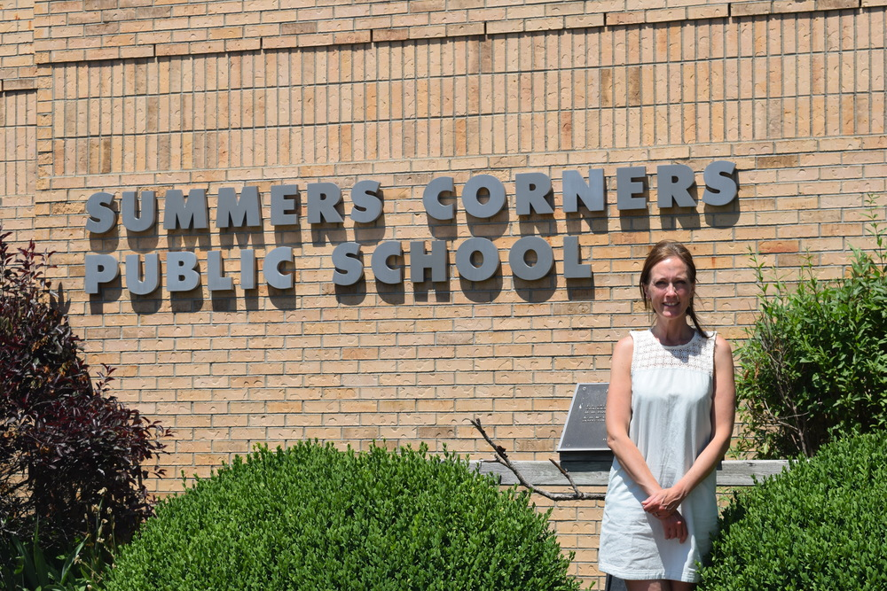 Alisa Murphy now teaches at Summers Corners Public School in Aylmer, Ontario
